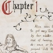 Handwritten pages from Alice's Adventures Under Ground, illustrated by Lewis Carroll | Alice in Digiland | Scoop.it