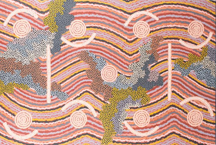 Quinn's June 11 auction features important Australian Aboriginal artworks | Art Daily | Océanie | Scoop.it