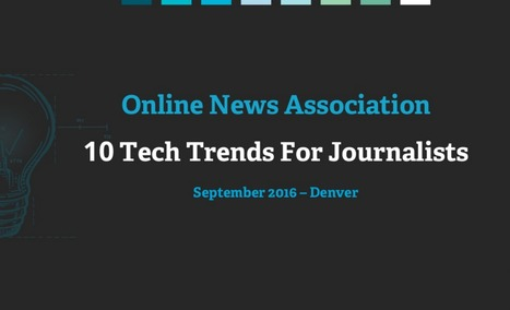 Journalisme web : 10 tendances pour 2016 à 2026 | Be Marketing 3.0 | Scoop.it