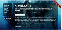 BigVideo.js - Créer des backgrounds vidéo fullscreen avec jQuery - La Ferme du web | Interesting Web | Scoop.it