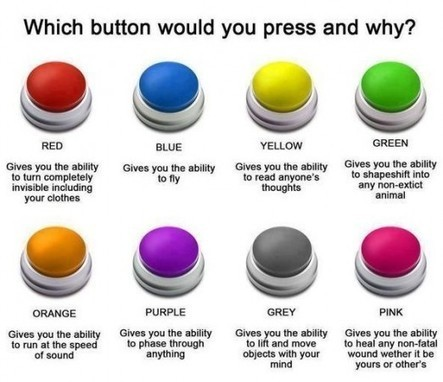 Which button would you push and why?   Informática Educativa y TIC   Scoop.it