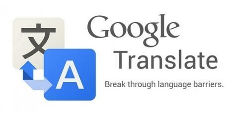 Traducción de textos de imágenes de la cámara, lo nuevo del traductor de Google para Android | Metaglossia: The Translation World | Scoop.it