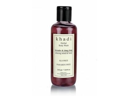 Buy Khadi Lavender Ylang Ylang Body Wash(SLS & Parabens Free) Online | Khadi Products | Scoop.it