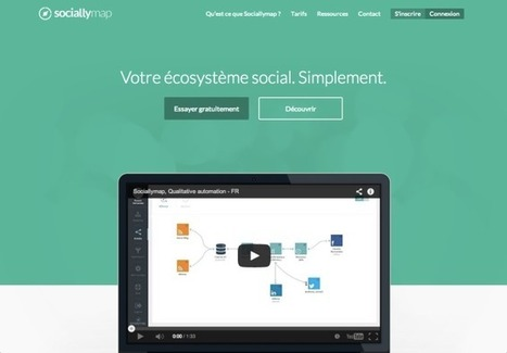 Sociallymap, de l'automatisation de qualité - Pierre Legeay | Web automation | Scoop.it