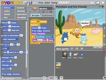 Pyonkee - Visual Programming with iPad   Programmieren für alle   Scoop.it