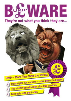 "Union attacks ""anti-worker"" UKIP 