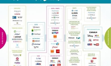 Infographie : le panorama du paysage télévisuel français vu du programmatique par TubeMogul | Offremedia | Big Media (En & Fr) | Scoop.it