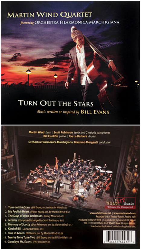 Martin Wind Quartet & Orchestra Filarmonica Marchigiana: Turn Out the Stars | Le Marche another Italy | Scoop.it
