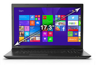 Toshiba Satellite C70D-CBT2N11 Review - All Electric Review | Laptop Reviews | Scoop.it