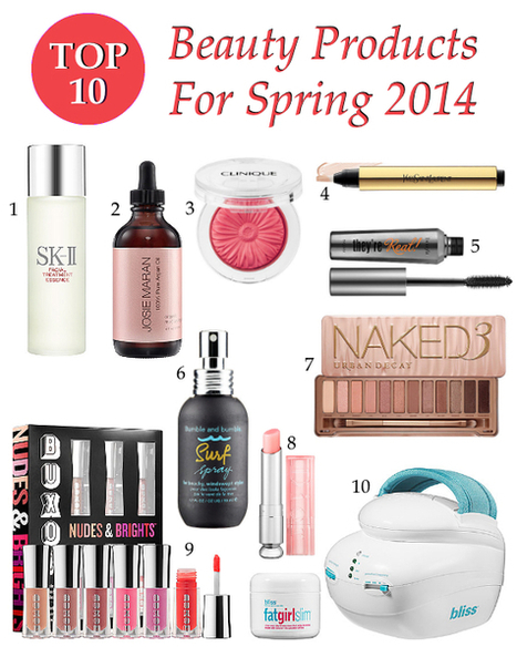 Top 10 Beauty Products For Spring 2014 - Skincare, Makeup, & More! | Best of the Los Angeles Fashion | Scoop.it