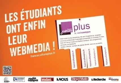 LES ÉTUDIANTS ONT ENFIN LEUR WEBMÉDIA ! | France Culture Plus | FOAD- e-formation | Scoop.it