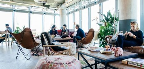 Wework, un géant américain pour secouer le coworking français | Commercial Real Estate News | Scoop.it