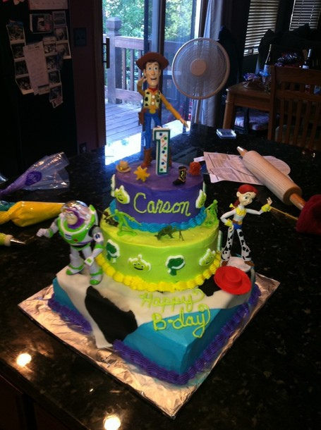 Carson's Toy Story Birthday Cake - Aunesty Janssen - Reikofski | Themed Cake How To's | Scoop.it
