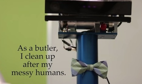 Robot Butler's Creativity Surprises Its Own Makers | :: The 4th Era :: | Scoop.it