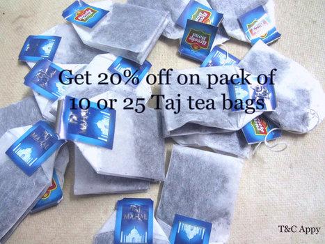 Taj Mahal Tea  Promotion - Uahoy   Free Coupon Deals Near by your city   Scoop.it