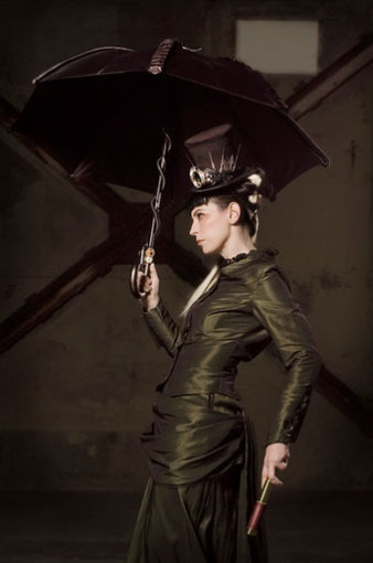Steampunk Pin-up Girl | VIM | Scoop.it