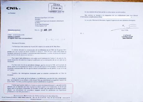 Voilà pourquoi la CNIL a refusé de communiquer son avis HADOPI - PC INpact   Dangers du Web   Scoop.it
