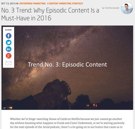 How To Make 2016 Your Best Content Marketing Year Ever | Social Media | Scoop.it