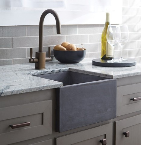 Stylish Concrete Sinks Designed to Energize the Kitchen and Bath Industry | Kuche Design | Scoop.it