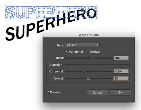Create Comic Book Inspired Typography in Adobe Illustrator | Photography, Graphic Design & Artful Inspiration | Scoop.it