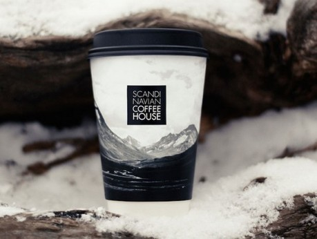 Scandinavian Coffee House   Sustainable Packaging Design   Coffee Lovers   Scoop.it