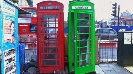 Londres: cabines telefónicas mudam de cor | Tecnologia & Ensino | Scoop.it