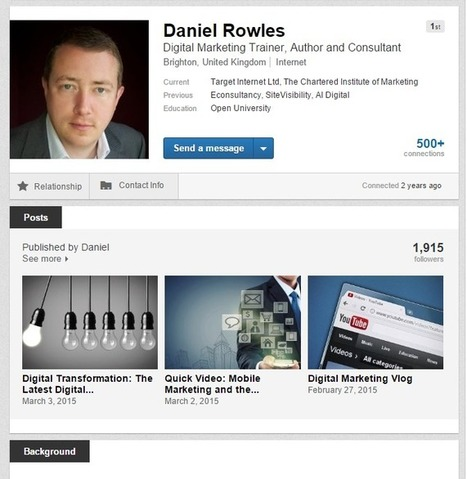 Using LinkedIn to increase visibility of your content and drive referrals to your website | LinkedIn Marketing Strategy | Scoop.it