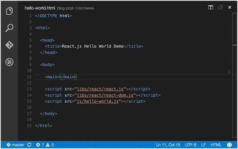This post serves as an introduction to a series of blog posts on how to build components with React.   javascript node.js   Scoop.it