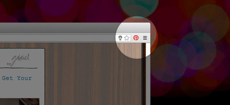 Oh, How Pinteresting!, Pinning Tip: Chrome Extension | Pinterest | Scoop.it