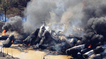 Train in Alabama oil spill was carrying 2.7 million gallons of crude - Los Angeles Times | Oil Spill | Scoop.it