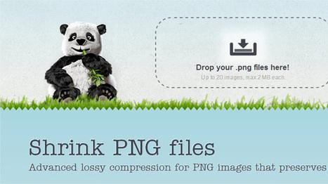 TinyPNG, ridurre il peso delle immagini PNG senza perdere qualità | Geekissimo | L'OBOE SOMMERSO | Scoop.it