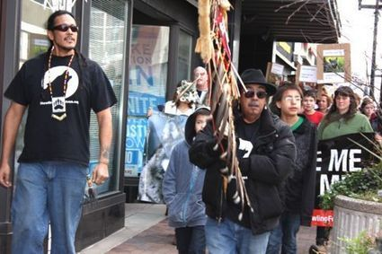 Minnesota Wolf Hunt Desecrates Ojibwe Creation Symbol | IDLE NO MORE WISCONSIN | Scoop.it