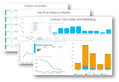 Microsoft Power View: Delivering Self-Service Reporting and Data Exploration   cdw   Scoop.it