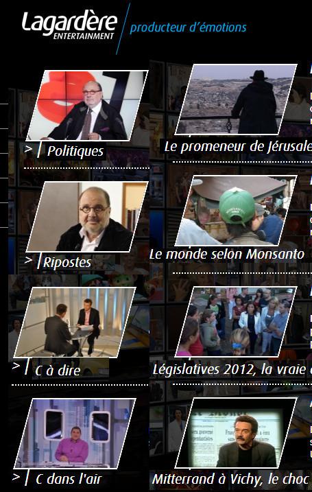 Télévision: Lagardère 1er producteur français de magazines et divertissements   DocPresseESJ   Scoop.it