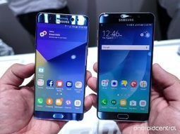 Galaxy Note 7 vs Note 5 specs comparison   smartphonesupdates   Scoop.it