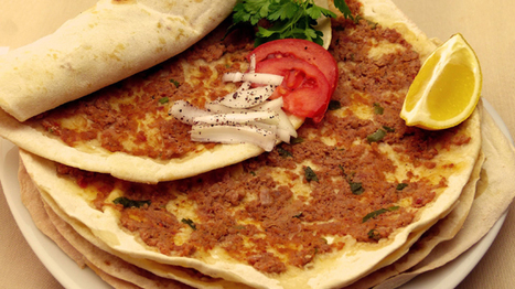 Lahmacun Turkish Pizza Recipe, Top Recipes, Traditional Recipe Ebook, recipe review | Healthy Recipes | Scoop.it