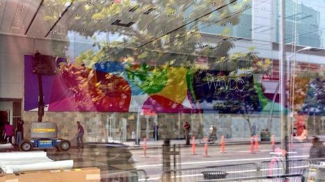↪ Apple começa a decorar o Moscone Center para a WWDC 2013 | Apple Mac OS News | Scoop.it
