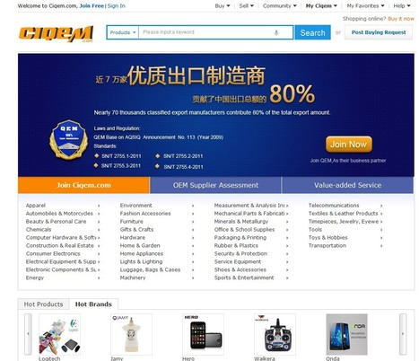 QEM certified China manufacturers and made in China products - largest M2B online marketplace | QEM(Quality Export Manufacturers) | Scoop.it