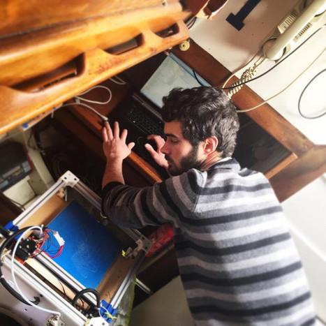 Le Lab-REV embarque une imprimante 3D à bord d'un voilier | Innovation sociale | Scoop.it