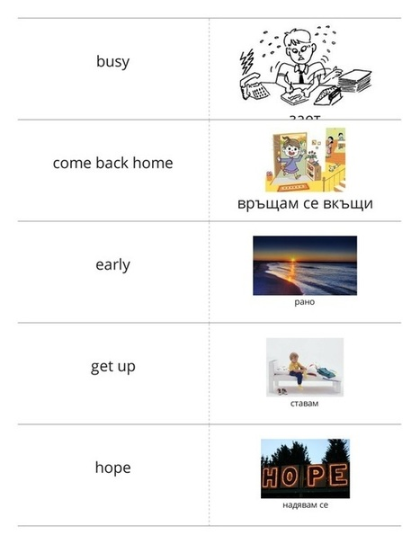 Флашкарти за класната стая | Bulgarian education | Scoop.it