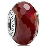 PANDORA Murano Glass Fascinating Red Charm with Sterling Core 791066 [PZ346] - $5.00 | Cute Pandora Charms on bracelet-bead.com | Scoop.it