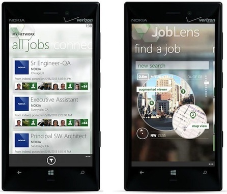 Nokia brings Augmented Reality to the employment market with JobLens   Augmented Reality   Scoop.it