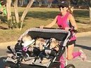 Mom pushes her triplets in a stroller for a half marathon world record | Disposable Diaper Industry | Scoop.it