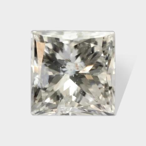 0.18 ctw 2 90 x 2 90 mm H White Color I1 Clarity Princess Cut Loose Diamond | Loose Diamonds | Scoop.it