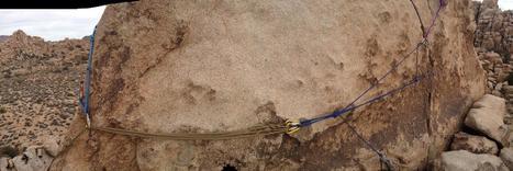 Macramé Project Rock Climbing Anchor | Jive-Ass Anchors | Belay Stations | Scoop.it