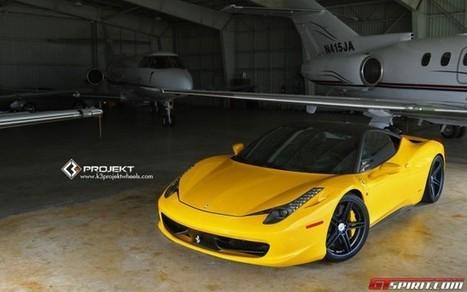 Yellow Ferrari 458 Italia on K3 Projekt Wheels - GTspirit | Cars | Scoop.it