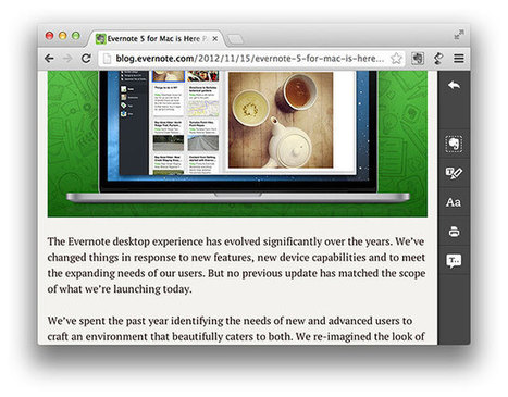 Evernote partners with iSpeech, adds text-to-speech reading to its Clearly extension for Chrome | BestChromeExtensions | Scoop.it