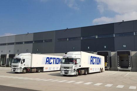 Visite du premier entrepôt logistique français d'Action [En images] | Logistique et E-commerce | Scoop.it
