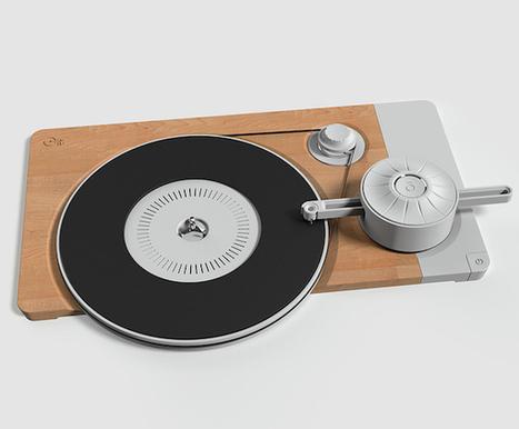 Stript and Turnt! : concept de platine vinyle frais, original avec la touche vintage et scandinave qui va bien   ON-TopAudio   Scoop.it