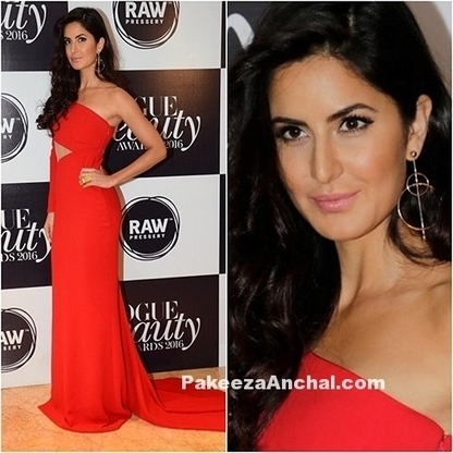 Katrina Kaif in Cut-out Gown by Romona Keveza | Indian Fashion Updates | Scoop.it